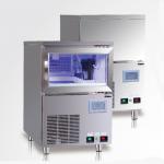 咸美顿吧台式制冰机HB-120AT   商用酒吧台下式制冰机