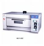 红菱燃气烤炉HLY-102 商用燃气烤箱 一层二盘燃气烤炉
