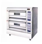 红菱电烤炉XYF-2HP-B2N 商用电烤箱 二层四盘电烤箱 全不锈钢电脑控制