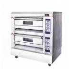红菱电烤炉XYF-2HP 商用电烤箱 二层四盘电烤箱 仪表版