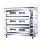 红菱电烤炉XYF-3HPL-N 商用电烤箱 三层九盘电烤箱 电脑版