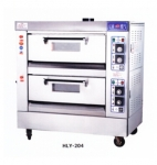 红菱燃气烤炉HLY-204 商用燃气烤箱 二层四盘燃气烤炉