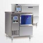 咸美顿吧台式制冰机HB-200WS   商用吧台制冰机