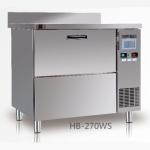 咸美顿吧台式制冰机HB-270WS    商用方冰制冰机  汉密尔顿