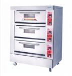 红菱电烤炉XYF-3KA商用电烤箱 三层六盘电烤炉 标准型电烤箱