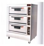 红菱电烤炉XYF-3KAL-T 商用电烤箱 三层九盘电烤炉 带定时器