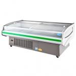 凯雪冷鲜肉展示柜KX-2.5PFB 商用2.5米冷鲜肉展示柜  平口柜  凯雪冷柜