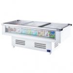 凯雪岛柜KX-1.2WDX 前透明玻璃展示柜 速冻食品展示柜 冰岛系列