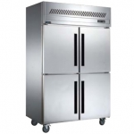 贝柯BD1.0L4四门冷冻冰箱   商用四门冷冻柜   直冷单温冷冻