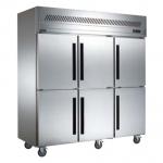 贝柯BCD1.6L6六门双温冰箱   商用六门厨房冷柜  六门直冷双温