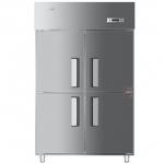 海尔SL-1020C2D2四门双温冰箱   商用厨房冷柜   直冷四门双温