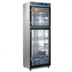 亿高YTP430A-2D消毒柜   上下门低温消毒柜    酒店餐具消毒柜