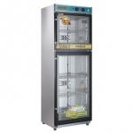 亿高YTP430H-2Z臭氧消毒柜   上下门餐具消毒柜
