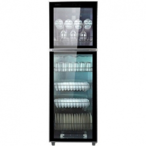 康宝(Canbo)ZTD350K-2U立式消毒柜  大容量消毒碗柜  上下门消毒柜