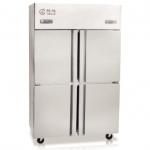 格林四门双温冰箱   商用四门厨房冰箱