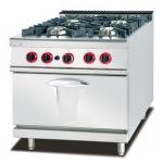 杰冠GH-987A燃气四头煲仔炉连焗炉  杰冠西餐厨具