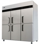 ATOSA阿托萨六门风冷冷冻冰箱MBF8009   商用厨房冷柜