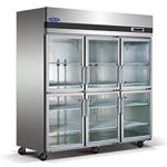 格林斯达/星星六门展示冷柜SG1.6L6-X  星星标准款六门展示冰箱 格林斯达六门冰柜标准款