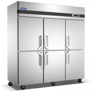 格林斯达/星星六门双温冰箱QZ1.6L6-X  星星六门标准款冰箱 格林斯达双机双温六门冷柜工程B款