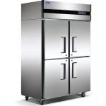 格林斯达/星星四门冰箱D1.0E4-X  E款星星四门冷柜 格林斯达不锈钢四门冰箱