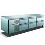 U-STAR|优耐斯达抽屉式平台高温雪柜TG20BD6 三组六抽屉炉台冰箱