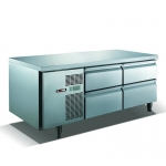 U-STAR|优耐斯达二组四抽屉式平台高温雪柜TG16BD4 炉台冰箱