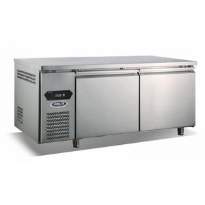 格林斯达二门冰箱TZ400AU2 星星二门平台雪柜 格林斯达直冷二门操作台冰箱