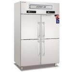 coolmes伯爵四门双温冰箱RF4 欧款伯爵冷藏冷冻柜 四门不锈钢冷柜 四门双机双温冷柜