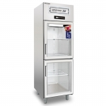COOLMES伯爵二玻璃门冷柜S0.5G2 二门展示冰箱