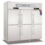 COOLMES伯爵六门双温冰箱RF6 不锈钢六门双温冰箱