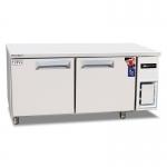 COOLMES伯爵冷冻工作台冰箱WF18  商用二门平台冷柜