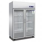 奥斯特TS1.0G2大二门冷藏展示柜 酒水饮料冷藏冰箱 蔬果冷藏展示柜  冷藏展示冰箱