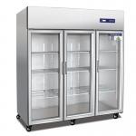 奥斯特三门展示冷柜TS1.6G3  大三门冷藏展示柜 酒水饮料保鲜展示柜 蔬果冷藏展示柜