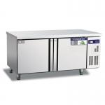 奥斯特二门冷冻工作台WTF18  不锈钢二门操作台冰箱 平台冷冻柜