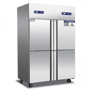 奥斯特四门冰箱TRF4  不锈钢四门冷柜 四门双机双温冰箱