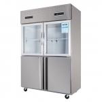 幸福雨四门双温冰箱SM-1200   厨房四门冷柜