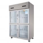 幸福雨ZS-S1220四门展示柜   厨房四门冷藏冰箱