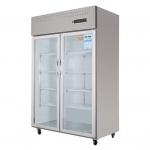 幸福雨双门冷藏展示柜ZS-S1220   厨房冷藏展示柜