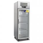 美厨冷藏展示柜ES0.5G 单玻璃门冷藏冰箱 单门展示冷柜