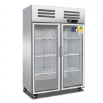 美厨二门展示柜ES1.0G2  美厨二门展示冰箱 大二门陈列展示柜