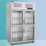 美厨四门展示冷柜ES1.0G4 美厨四门冷藏柜 四玻璃门冷藏冰箱