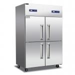 美厨睿弘四门双温冰箱BRF4  四门不锈钢冷柜 四门双机双温冰箱