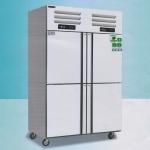 美厨四门双温冰箱ERF4  商用不锈钢四门冰箱