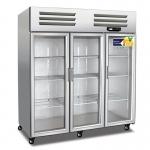 美厨大三门风冷冷藏保鲜展示柜AES1.6G3
