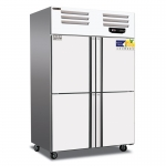 美厨四门风冷冷藏冰箱AER4 不锈钢四门冷柜 风冷无霜冰箱