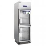 睿弘二门冷藏展示柜BS0.5G2 二玻璃门冷藏冰箱