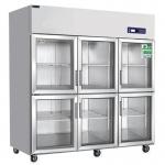 睿弘六门冷藏冰箱BS1.6G6 六门冷藏陈列展示柜 睿弘六门展示冰箱