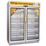 美厨双门变频消毒柜BP-4 五星变频消毒柜 热风烘干保洁 臭氧紫外线消毒柜