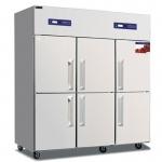 睿弘六门冷冻柜BRF6 不锈钢六门冰柜 六门双温冰箱 商用厨房冷柜