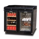 美厨冰立方迷你吧台DT106 组合式冰箱消毒柜 吧台展示柜 多功能包间消毒柜